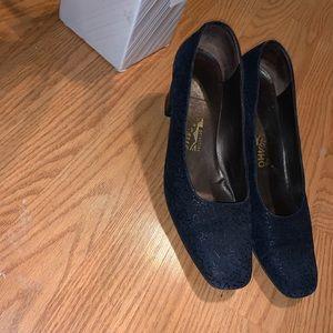 Salvatore Ferragamo Square Heels